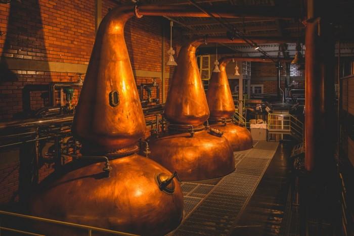 Union Distillery conclui projeto de modernização e expansão