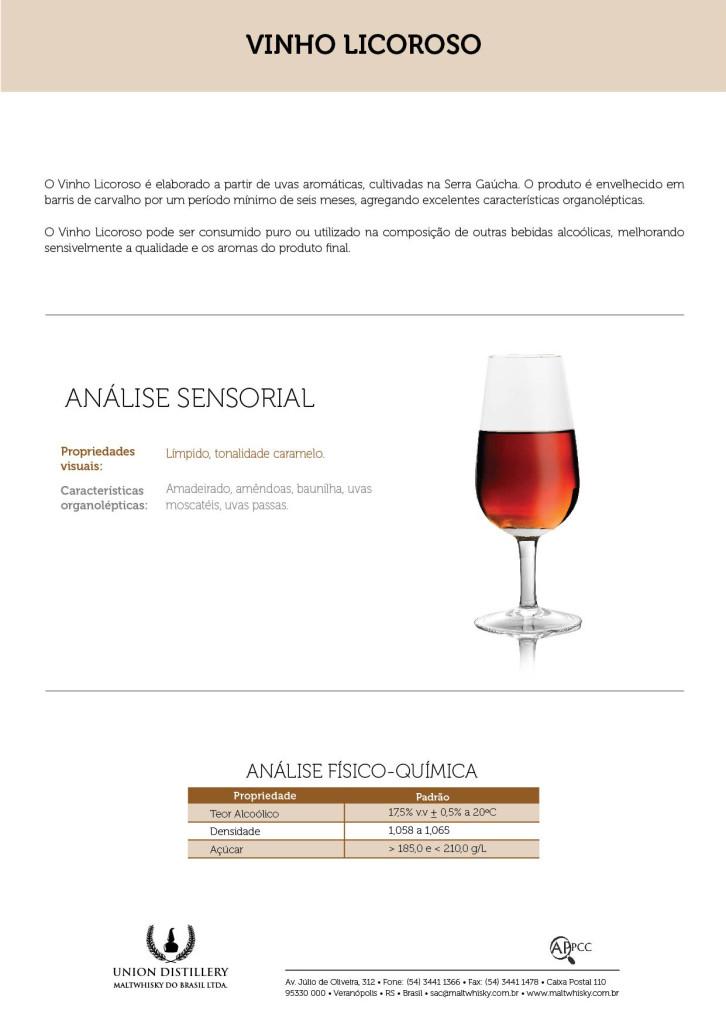 Vinho Licoroso Verso